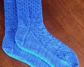 READY TO SHIP - Ladies Hand Knit Socks (9-11)