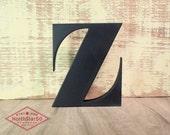 Ornate Letter 'Z'  - Wooden letter