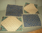 Placemats, set of four