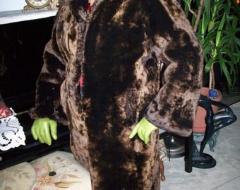 RAM FUR, real vintage item from England---CLEARANCE---