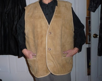 GENUINE Sheepskin VEST for men never worn REDUCED