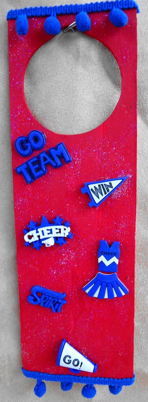 Cheerleader DoorHanger