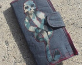 Harry Potter Inspired Lord Voldemort and Death Eater Dark Mark Deconstructed Wallet