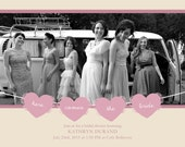 Victorian Love Bridal Shower Invitations (5x7 landscape)- 25 pack