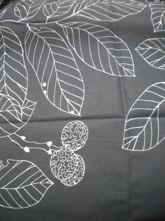 ikea stockholm blad fabric leaves fruit s branches design on. Black Bedroom Furniture Sets. Home Design Ideas