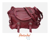 100% genuine purple leather lady bag ll ready to ship item