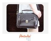 100% genuine leather handmade sachet bag ll Dark Brown ll shoulder bag ll purse ll organizer bag ll ready to ship item