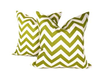 Decorative Pillows - Throw Pillow Covers - Green Pillow - Accent Pillow - Toss Pillow - Pillows - Green Pillows  - Green Pillow Cover