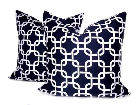 Pillows - Throw Pillow covers - Decorative Pillows - Blue Pillow - Navy Pillow - Pillow covers - Pillow covers 20x20 - Throw Pillows