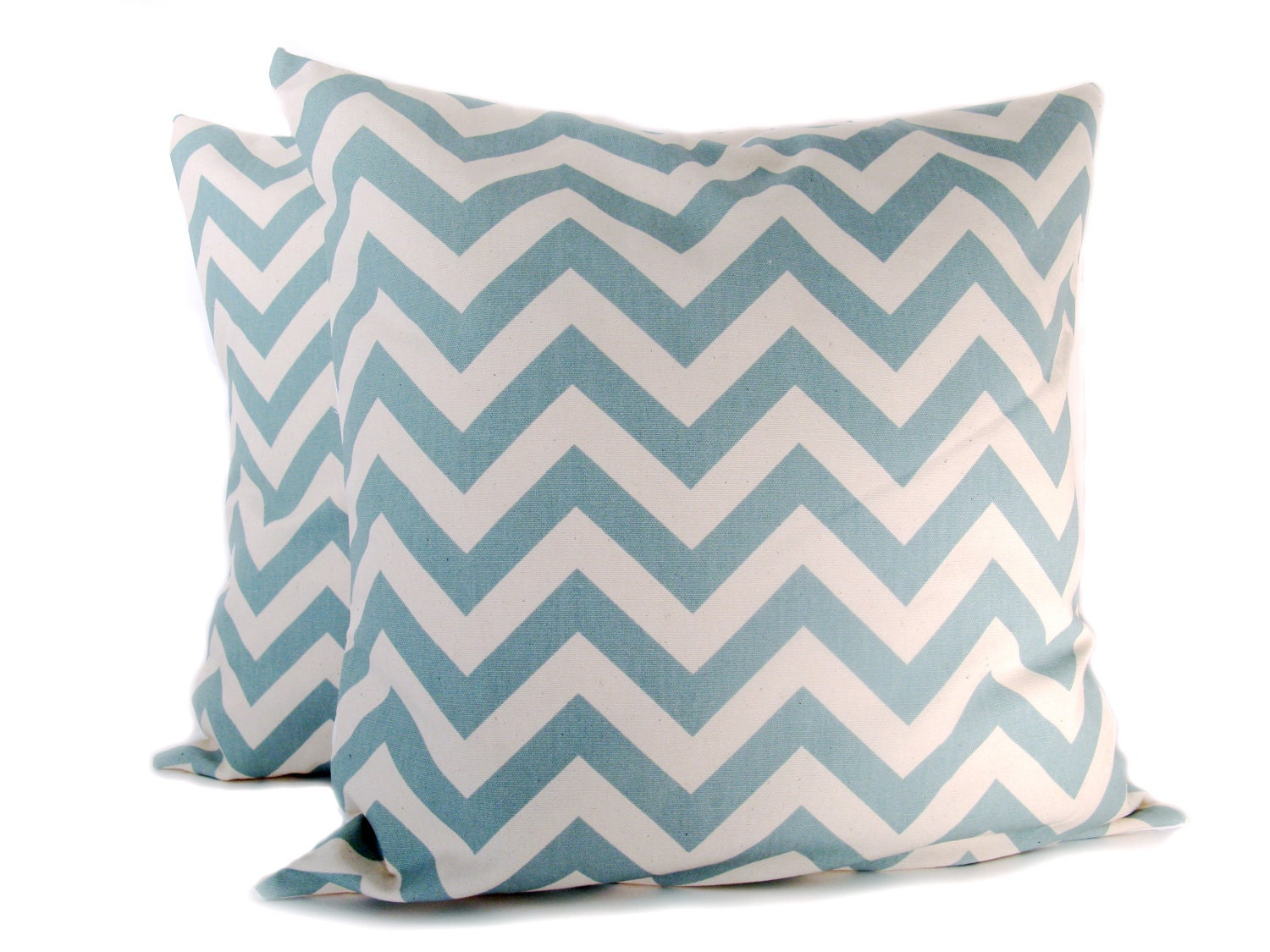Blue Pillow Covers Chevron Pillow Decorative by EastAndNest