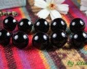 10 pairs 12 mm Black  Stuffed animal eyes Safety Eyes for Amigurumi or crochet doll