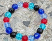 SALE    blue red and black