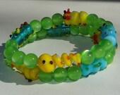 cutie crawlers memory wire bracelet