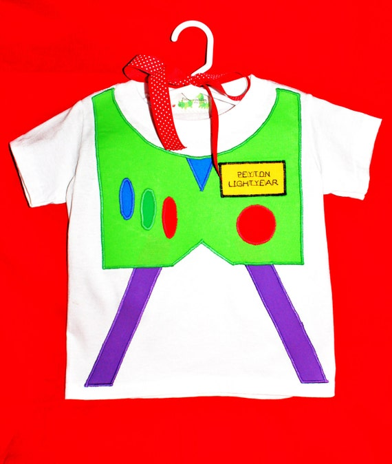 Personalized Buzz Lightyear Inspired T-shirt from Disney's Toy Story