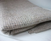 Vintage wool fabric brown