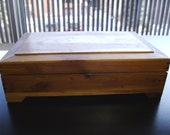 Vintage Cedar Box