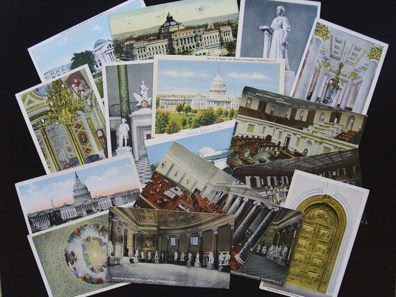 Instant Collection of Washington, D.C. Post Cards