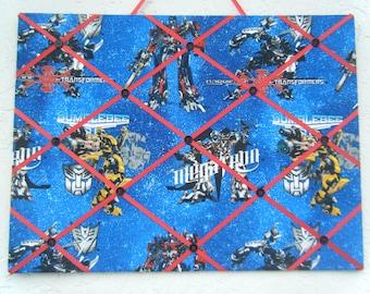 Transformers photo/ memo board