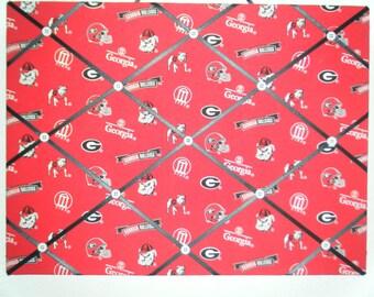 Georgia Bulldogs photo/ memo board