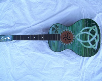 CELTIC DREAM Mosaic Guitar