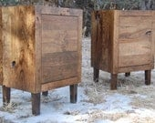 Rustic Cherry End Tables