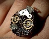 The Clockwork Gentleman Ring