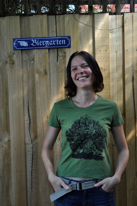 Tree T Shirt. Bamboo Tshirt. Organic Cotton T Shirt.