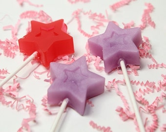 Princess wand Kid Soap - Kid Party Favors - Birthday party - 12 Wand Soap