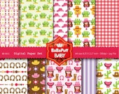 Buy 2 Get 2 Free ---- Digital Papers ---- Personal and Small Commercial Use ---- BB 0021