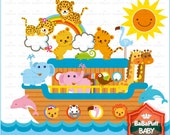 Noah's ark Clip Art ---- Personal and Small Commercial Use ---- BB 0048