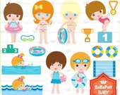 Buy 2 Get 2 Free ---- Swimming ---- Personal and Small Commercial Use ---- BB 0063