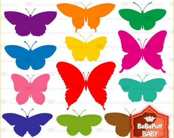 Buy 2 Get 2 Free ---- Butterfly Silhouette ---- Personal and Small Commercial Use ---- BB 0121
