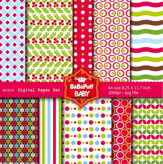 Buy 2 Get 2 Free ---- Digital Papers ---- Personal and Small Commercial Use ---- BB 0034