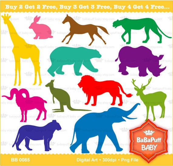 Printable Animal Silhouettes Animals Silhouette