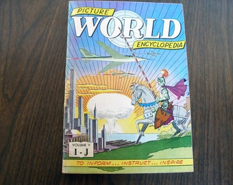 RARE Collectible: V5 Picture World Encyclopedia  (1959)
