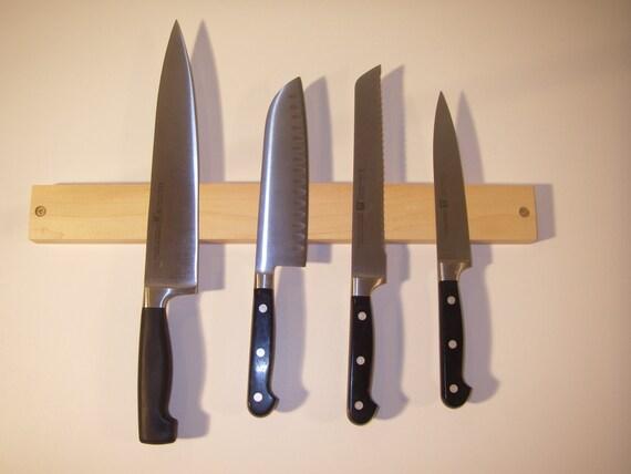 Maple Magnetic Knife Holder