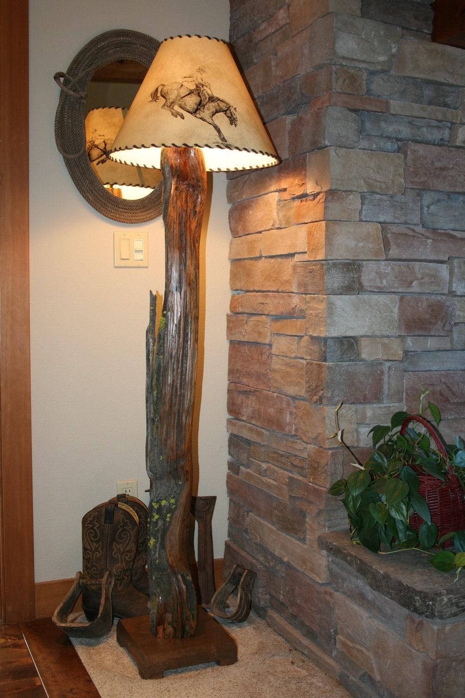 Rustic Ancient Juniper Floor Lamp FREE SHIPPING