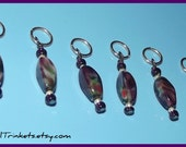 Stitch Markers - Purple Haze - Set of Six
