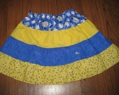 Toddler 4T Gypsy Style Tiered Skirt