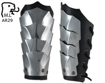 New Armor Elf bracers in stainless steel AR29