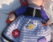 Custom Handmade Knitted Doll