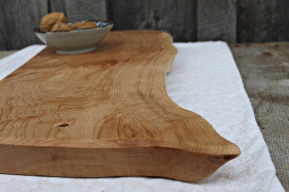 custom listing for Ann- wood cutting /serving board, Maple, sustainable gift, reclaimed wood & natural oil finish