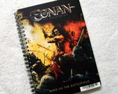 Conan the Barbarian DVD Backer Card Notebook Journal