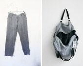 The Upcycled Bag N. 08 // shopper up-cycled pants backpack weekender BERLIN VINTAGE
