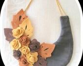 Felt collar Necklace