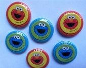 S A L E Sesame Street's Elmo and Cookie Monster magnet set (6)