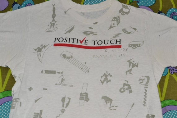 1980s THE UNDERTONES Positive Touch T-Shirt