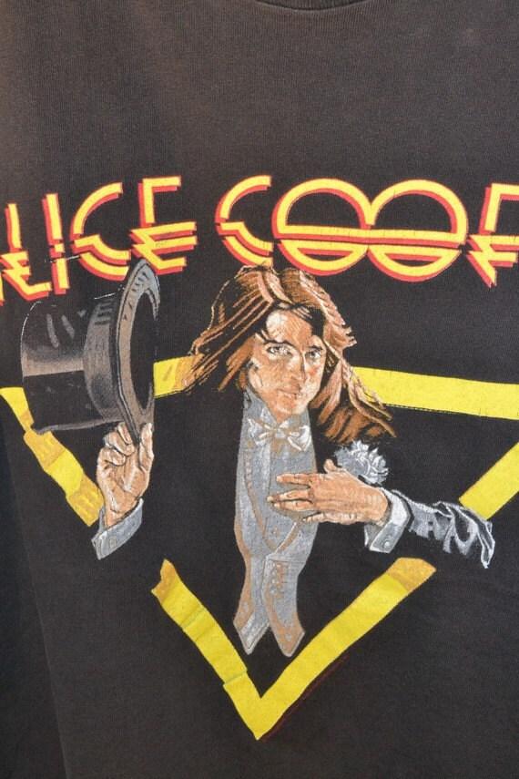1980's ALICE COOPER Welcome To My Nightmare T-Shirt