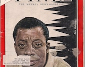 Vintage Time Magazine May 17, 1963 Author James Baldwin