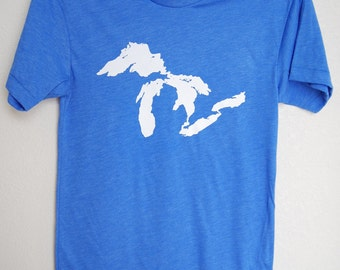 The Great Lakes T Shirt